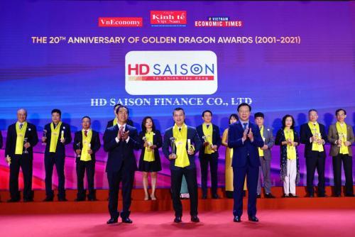 HD SAISON vinh dự được trao tặng giải thưởng Rồng Vàng