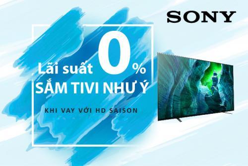 Sắm tivi như ý với HD SAISON