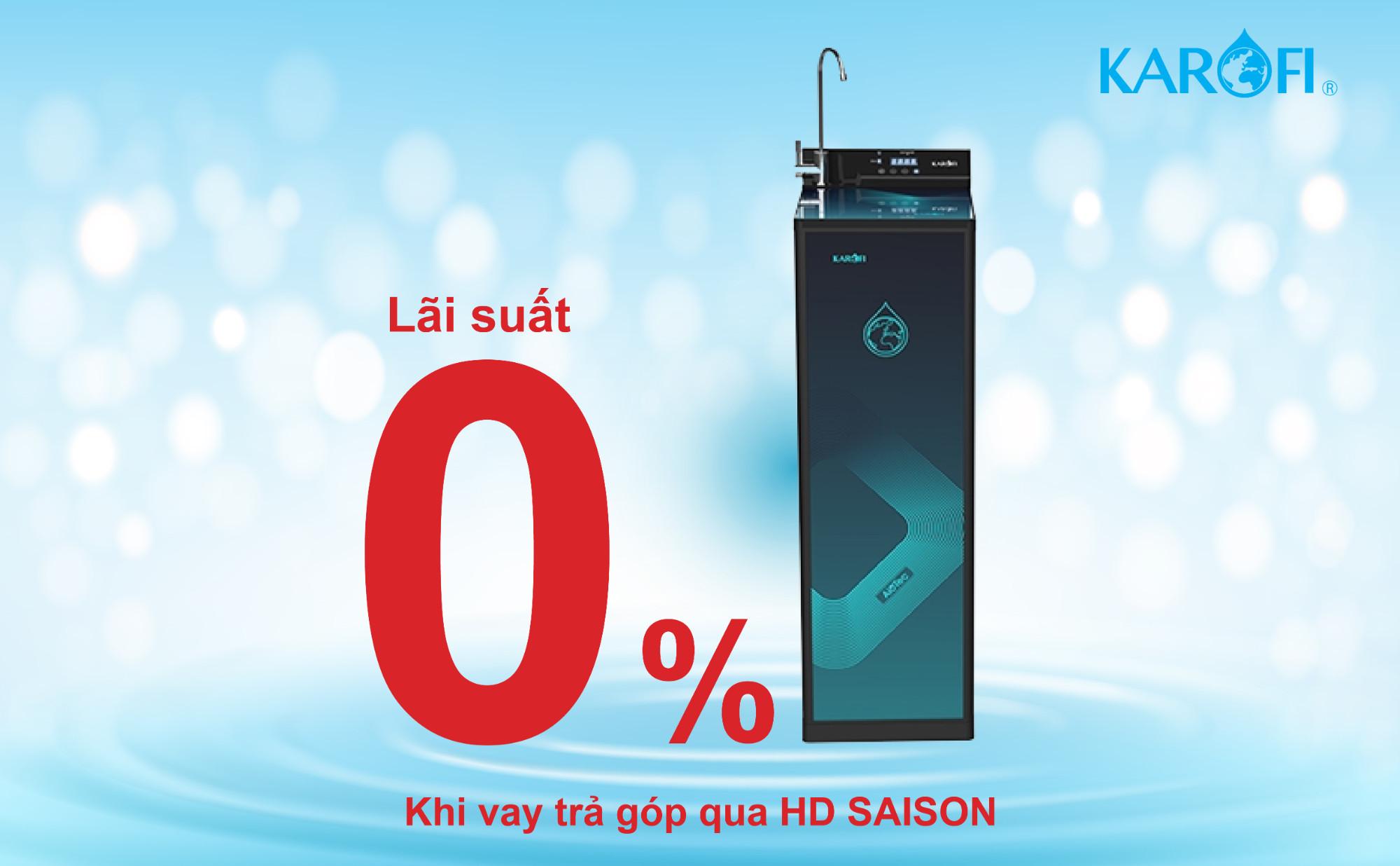 Có HD SAISON, nguồn nước sạch luôn sẵn có trong nhà