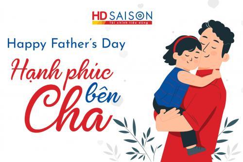 Cùng HD SAISON chia sẻ Hạnh phúc bên Cha