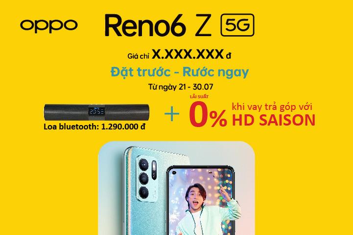 OPPO Reno6 Z - Mỗi cảm xúc, một chân dung