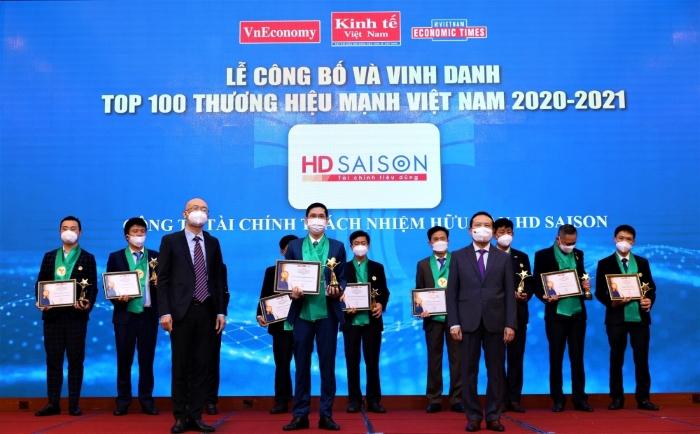 HD SAISON được tôn vinh Thương hiệu Mạnh Việt Nam