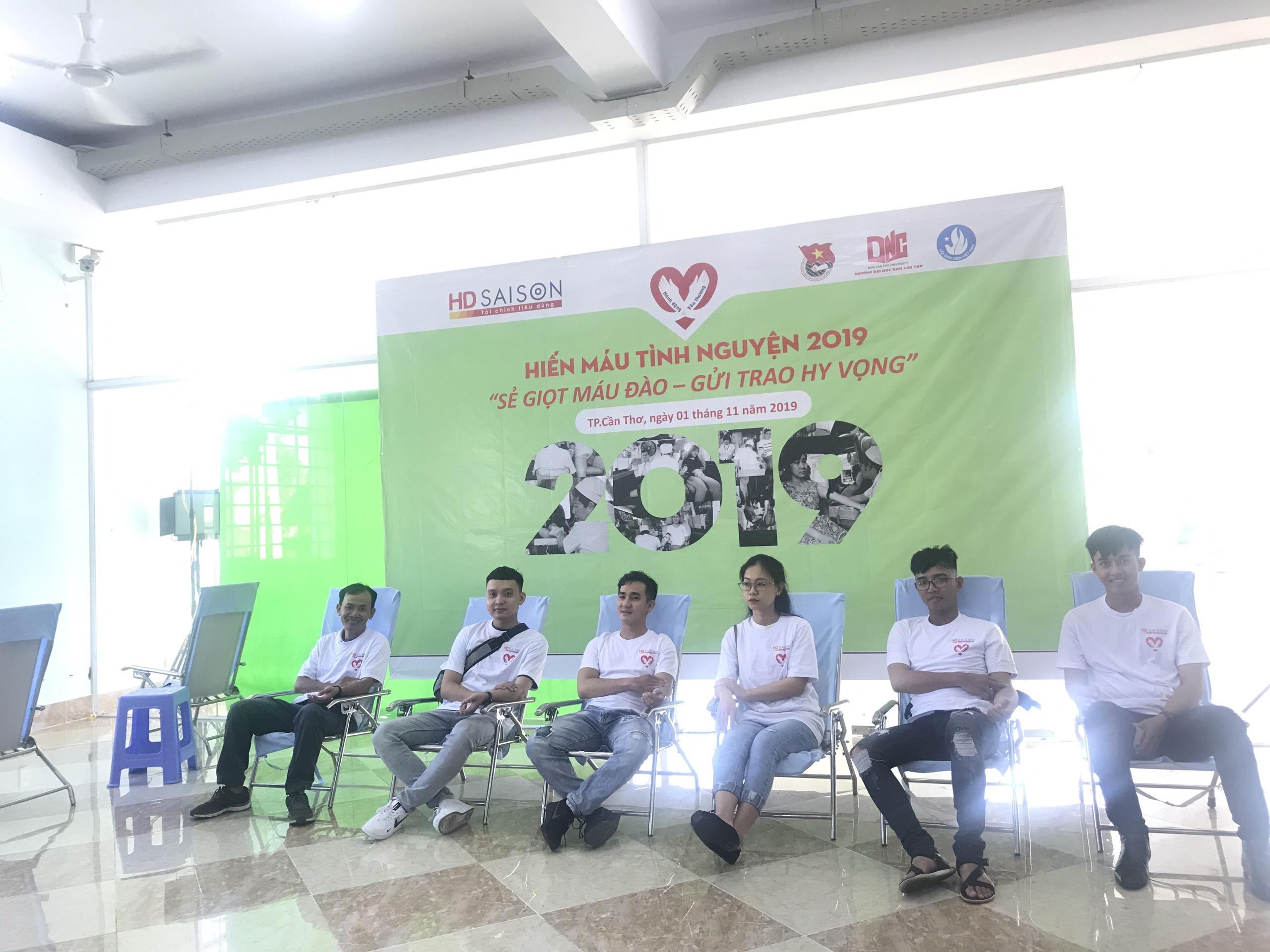 Ngày hội Hiến máu tình nguyện HD SAISON tại Cần Thơ
