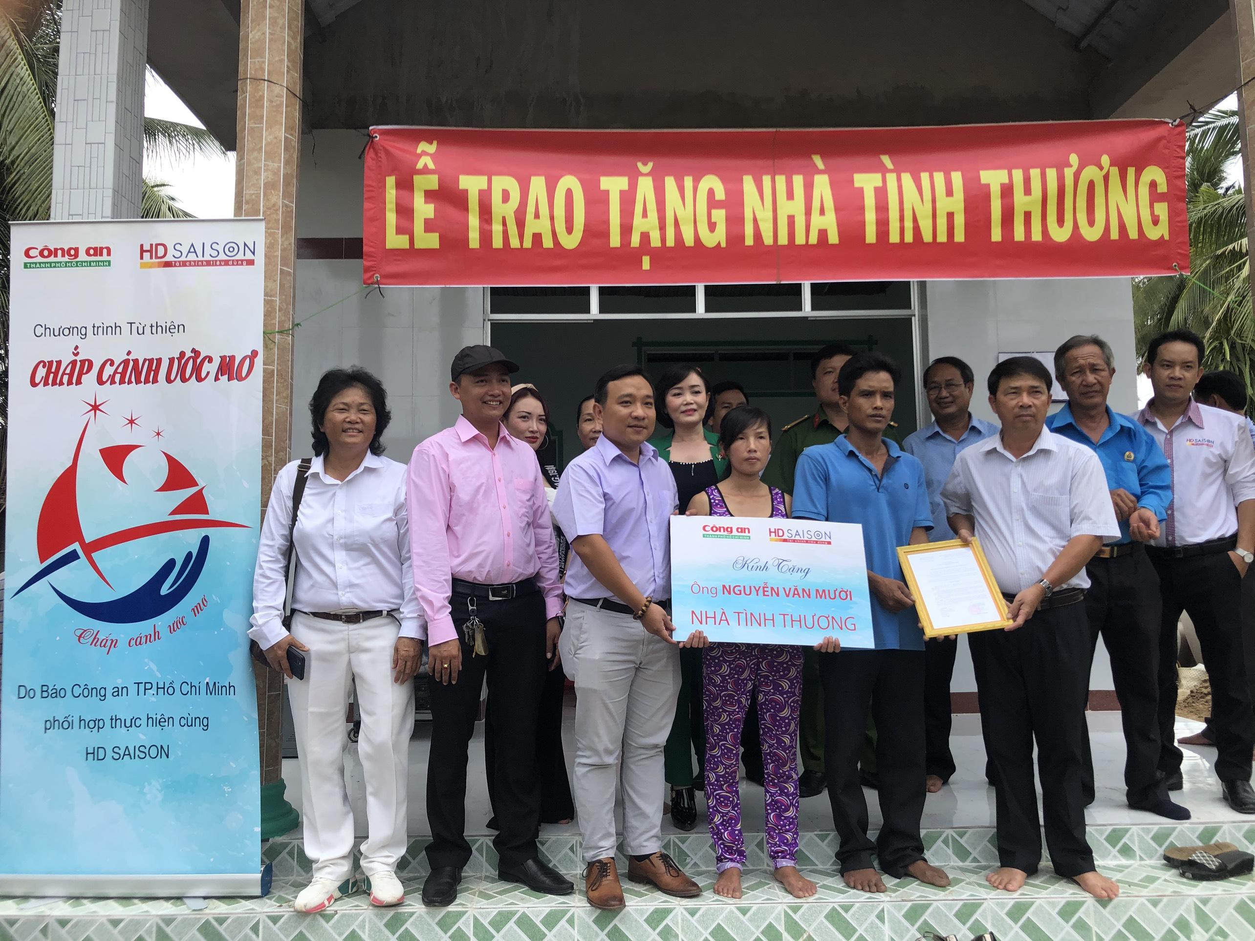 """HD SAISON tiếp tục hành trình """"Chắp cánh ước mơ"""" tại tỉnh Trà Vinh"""